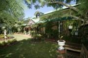 Front entrance gardens