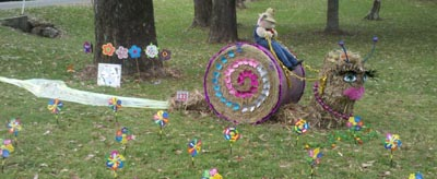 Scarecrow Festival, Gallery Walk, Accommodation Mount Tambourine, National Parc