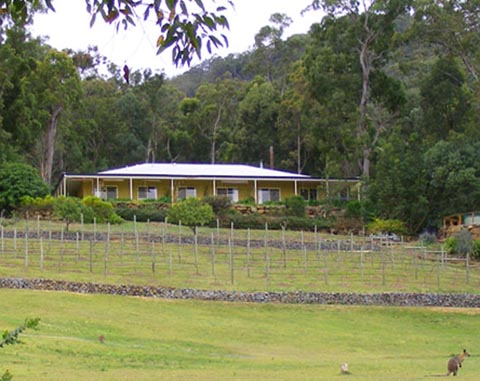 B&B, Canungra, Wallaby Ridge, Accommodation, Albert River Wines