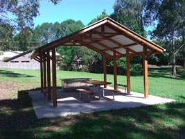 Gas BBQ, Tamborine Mountains, Lions Club, Picnic Area