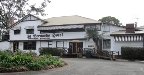 Historic St Bernards Hotel, Accommodation, Mount Tamborine functions