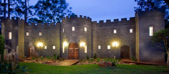 Luxury accommodation, Wedding Venue, Castle Tambourine