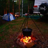 Camping Tamborine Mountains, Creekside Campsites, Powered Sites