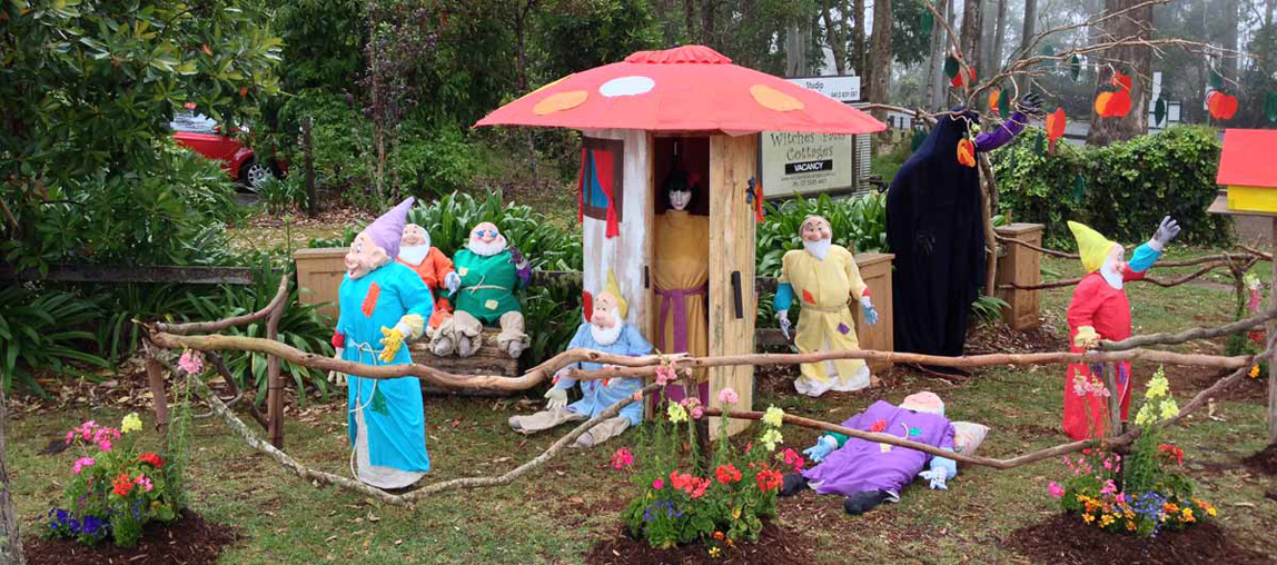 Scarecrow Festival, Fun for families, Visit Tamborine Mountain
