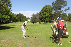 Tamborine Mtn Golf Course, Golf Club, round of golf