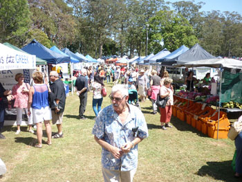 Markets Tamborine, Showground Mount Tambourine, fresh produce