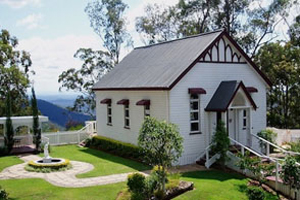 Hilltop on Tamborine, Weddings, Chapel, Accommodation, Views