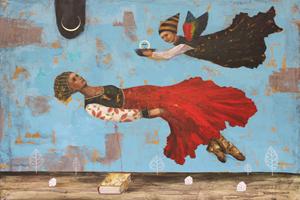Maki Horanai, Hillel Weintraub, Mtn Dreams Atelier, Artist Studio