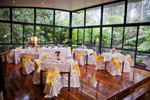 Pethers, Rainforest Weddings, Retreat on Tamborine Mtn, Restaurant, reception