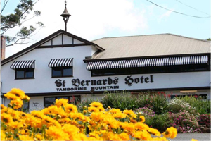 St Bernards Hotel, Tamborine Good Food, Hotel with views