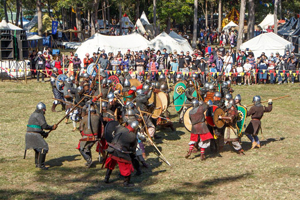 Viking Culture, Jorth Gar, Varangian Guard, Demonstration Day