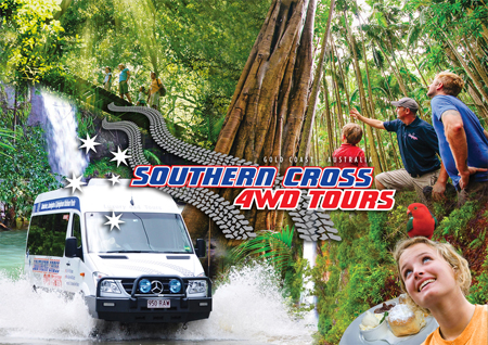Tours on Tamborine, The Green behind the Gold, Southern Cross 4WD tours