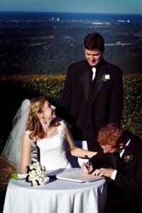 Tamborine Weddings, Gold Coast Hinterland, National Park