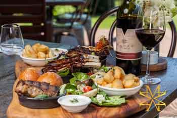Eden Restaurant, Mason Wines, National Park Tamborine