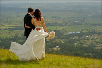 Wedding vowels, Mount Tamborine Accommodation, Reception Venue