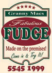 Granny Mcs, Fudge Store Tamborine, Cafe and Lollies