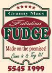 Granny Mcs, Fudge Store Tamborine, Cafe and Lollies