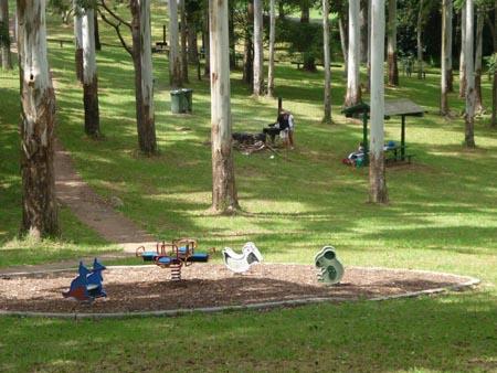 Picnic tamborine Mtn, Playground Tambourine Mtns, family picnic