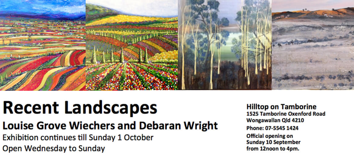Art Exhibition, Hilltop on Tamborine, Artists Gallery