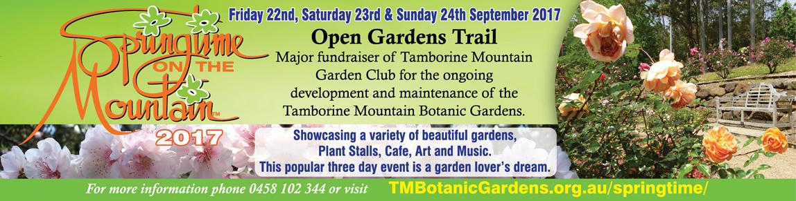 Garden Festival, Springtime on Tamborine Mountain, Botanic Gardens