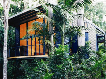 Luxury accommodation, Tamborine Mountain, The Green behind the Gold