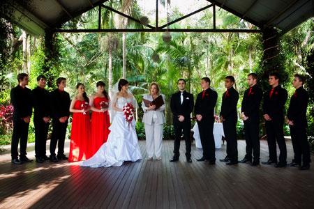Tamborine Weddings, Thunderbird Park, Rainforest Weddings