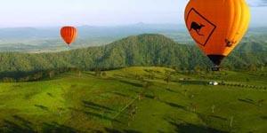 Balloon Hot Air Gold Coast, Balloon Flights Tamborine