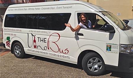 The Vino Bus, Tamborine Wine Tours, Wineries tour Mt Tambourine
