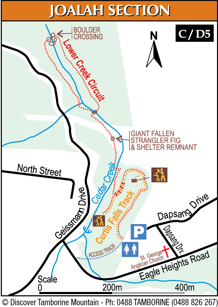 Mount Tamborine Detailed Bushwalking Maps