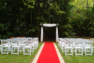 Weddings Tamborine, Garden Weddings, Pethers Retreat
