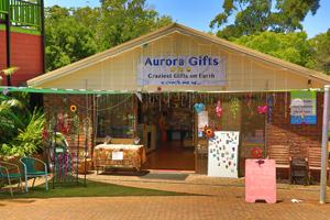 Aurora Gifts, Gallery walk, Shopping Tamborine