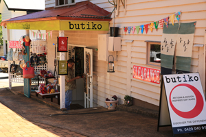 Butiko, Gallery walk, Tamborine National Park, Shopping