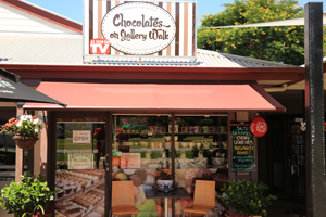 Chocolates on Gallery, Tambourine Mtn, Gallery walk, Chocoholic, indulgence