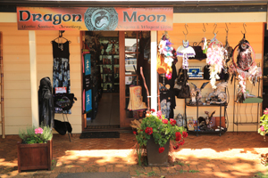 Dragon Moon, Shopping Tamborine, Gothic and Pagan,