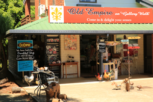 Old Empire, Gallery Walk, Mount Tamborine, Shopping for fun