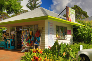 Organik Temple, Shopping Tamborine, Gallery walk