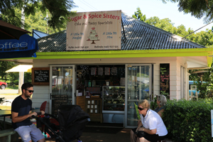 Sugar and Spice Sisters, Gallery walk, Eating out, Tamborine Mtn