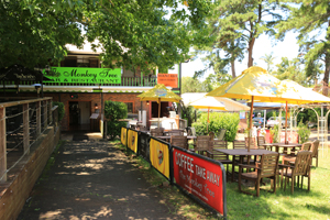 Monkey Tree Restaurant and Bar, Eating Out, Gallery Walk, Mt Tamborine