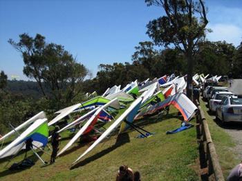 Tamborine Hang Gliders, Mt Tambourine, Vies, Lookout