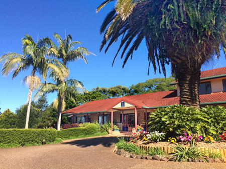 Luxury Accommodation, Tamborine Mountains, Gallery Walk