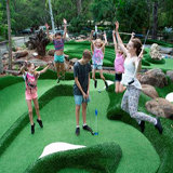 Thunderbird park, Tamborine Attractions, Mini Golf