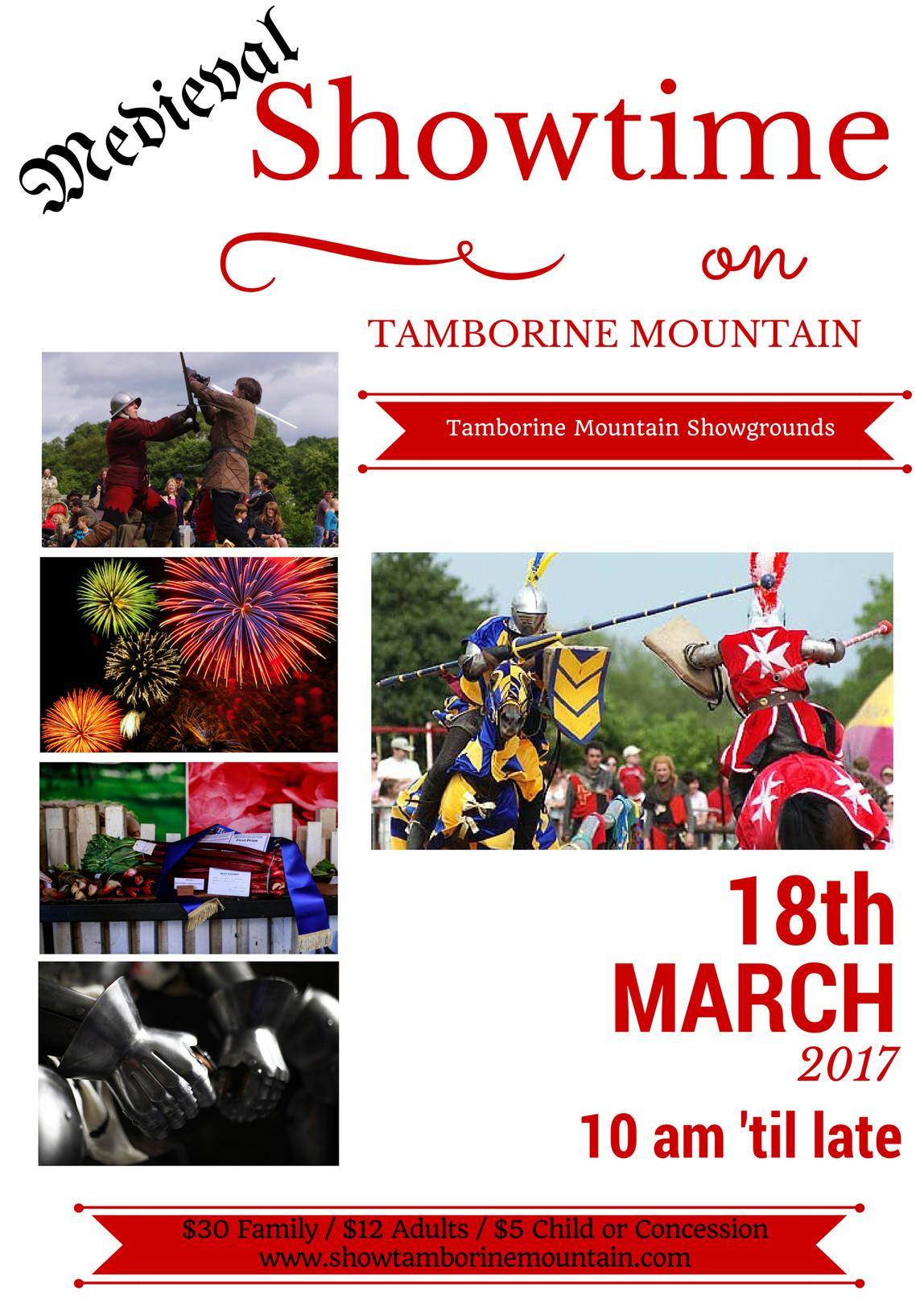 Tamborine Show, Medieval Carnival. Family Fun