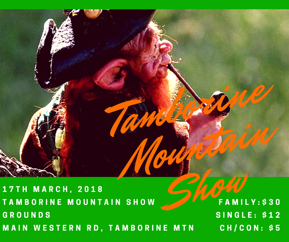 Showtime Tamborine Mtn, StPatricks Day, Side Show Ally, Horseback Spectacular