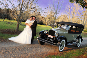 Gold Coast Car Hire, Vintage Classic, Wedding Transport, Bridal Car, Tamborine Weddings