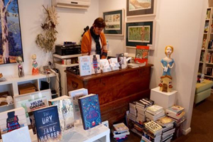 Under the Greenwood Tree, Art and Craft, Book Shop