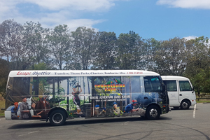 Escape Shuttles, Tamborine, Bus Transfer, Tours