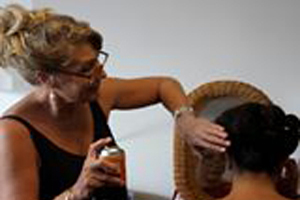 Robyn Law, tamborine Weddings. Mobile Hair Dresser