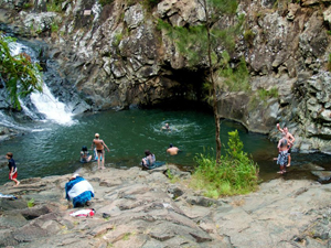 Waterfalls and Swimming Holes