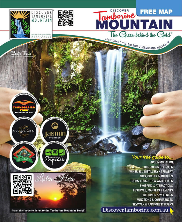Tamborine Mountain Visitor Guide and Map Booklet