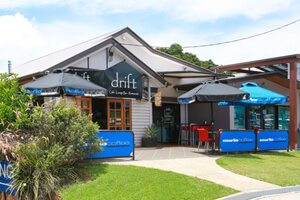 Drift Cafe, Restaurant, Lounge Bar